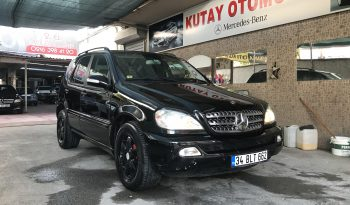2004 MODEL MERCEDES ML W 163 İNSPİRATİON OTOMATİK full