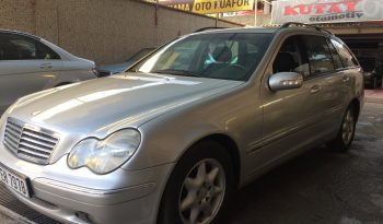 2003 MERCEDES C 220 CDİ OTOMATİK STATİON VAGON full